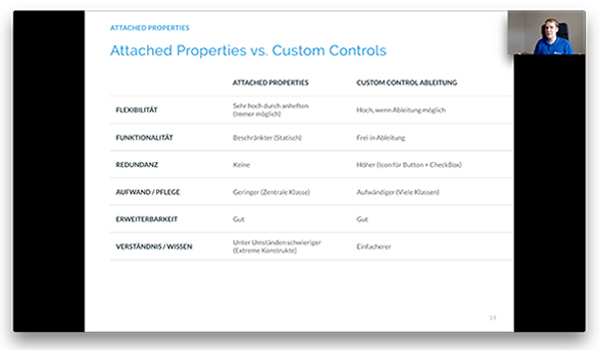 Video Schulung Attached Properties Behaviors
